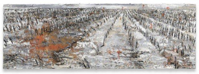 Le dormeur du val (den sovende i dalen), 2010. Efter digt af Rimbaud fra 1870 med samme titel. (Foto: Charles Duprat, Galerie Thaddeus Ropac, Paris/Salzburg)