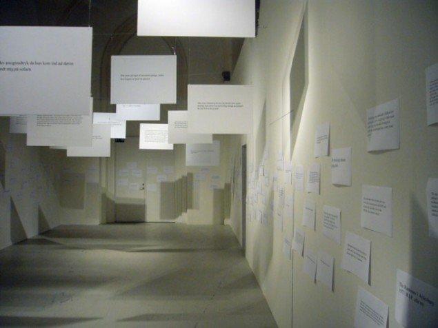 Øjeblikke nedfældet på papir, som en del af Fixr. (Foto: Matthias Hvass Borello)