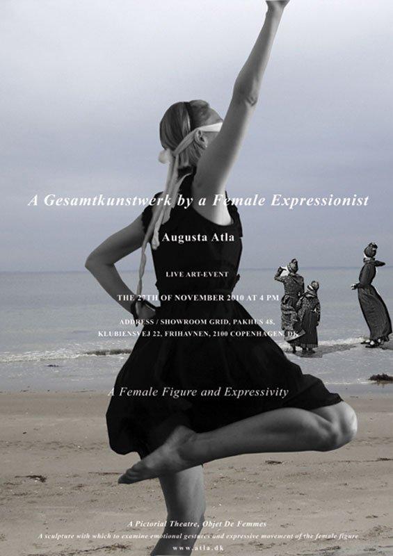 Plakat til Objet de Femmes – A Gesammtkunstwerk by a Female Expressionist, 2010