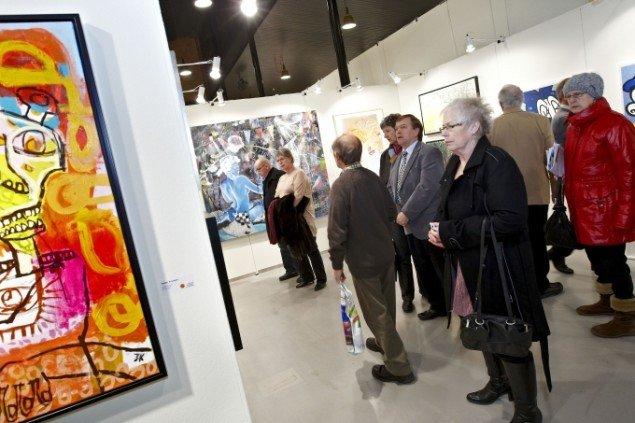 Foto fra sidste års Art Herning messe. Foto: Tony Brøchner.
