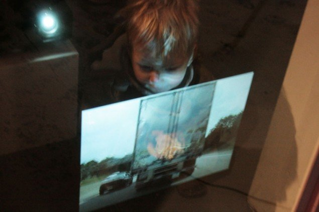 Amaile Smiths værk vakte begejstring - også hos det yngre publikum. (Foto: Kristoffer Horn)