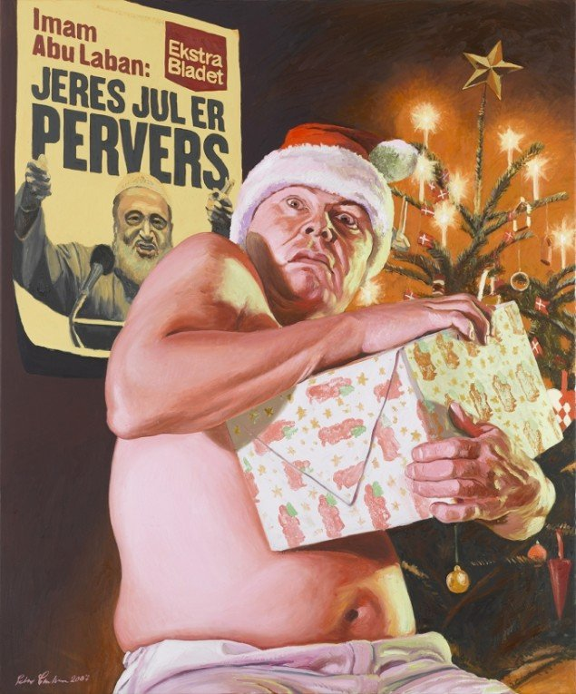 Peter Carlsen: Jeres jul er pervers, 2007. Pressefoto.