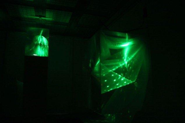 Astrid Myntekær: Dreamcube Visions 3+4. (Foto: Anna Myntekær)