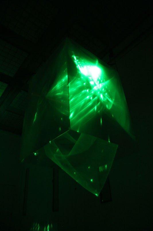 Astrid Myntekær: Dreamcube Visions 3. (Foto: Anna Myntekær)