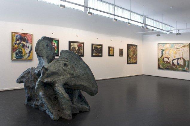 Udstillingsview fra Galerie Moderne Silkeborg. Foto: Ralf Søndergaard.