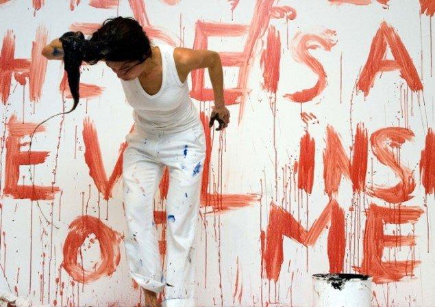 Lilibeth Cuenca: A Void, Performance Documentation, 2007. (Foto: David Høi)
