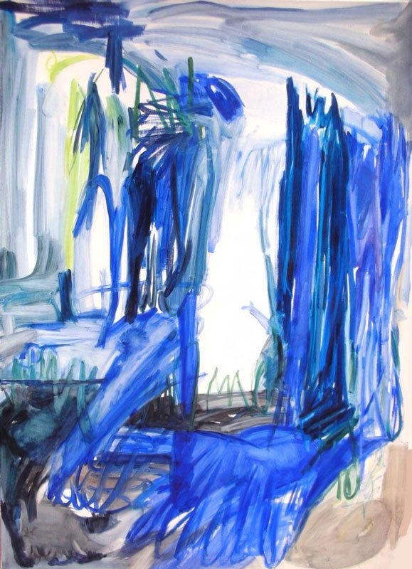 Door to the Sea, Jill Mulleady, 2010, Courtesy the artist/David Risley Gallery