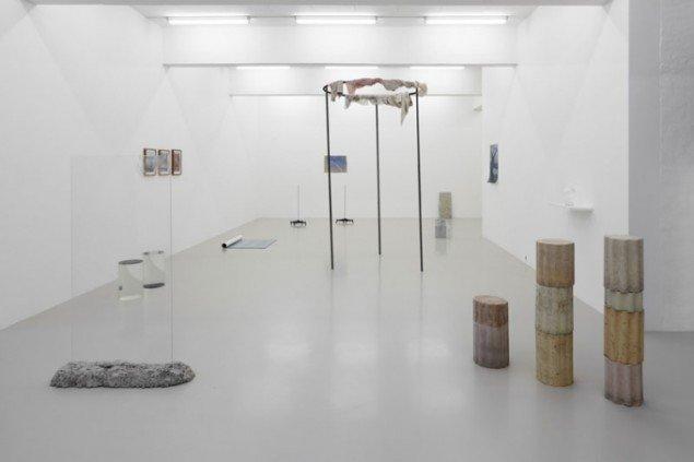 Ingen af værkerne skriger til den besøgende hos Galleri Christina Wilson. (Pressefoto)