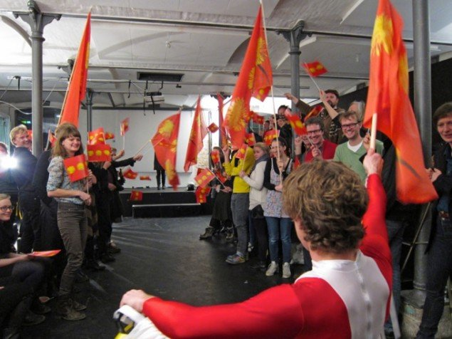 Kristján Ingimarsson: Fools of the world unite dot com. (Foto: Samtalekøkkenet)