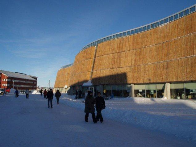 Katuaq, Grønlands kulturhus. Foto: Katja Nyborg