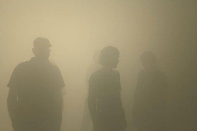 Din blinde passager, installation på ARKEN Museum for moderne kunst, Olafur Eliasson, 2010, (Foto: Studio Olafur Eliasson; neugerriemschneider, Berlin; og Tanya Bonakdar Gallery, New York)