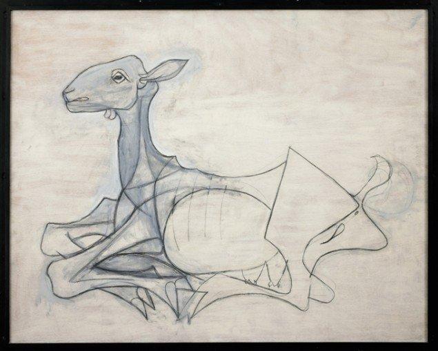 Pablo Picasso: La Chèvre (Geden), 1946 (Foto: Musée Picasso, Antibes © Succession Picasso).