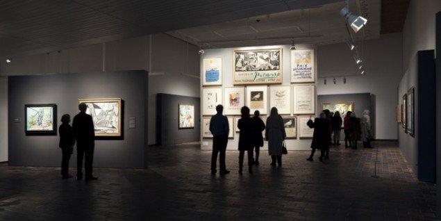Picasso: Fred og frihed, Installation shot, Louisiana Museum of Modern Art. (Foto: Brøndum & Co/Poul Buchard).