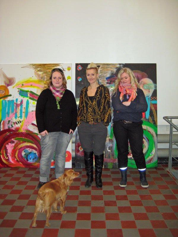 Henriette Hellstern-Kjøller, Kirsa Andreassen og Beinta av Reyni. (Foto: Sara-Luise Pedersen)