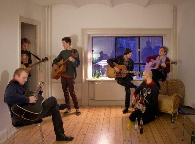Ragnar Kjartansson: Music by Kjartan Sveinsson, 2011 (Foto: Anders Sune Berg).