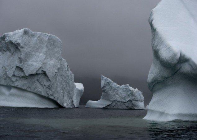Per Bak Jensen Disko Bay. Fra serien Greenland. 2006. Foto: Per Bak Jensen, Galleri Bo Bjerggaard