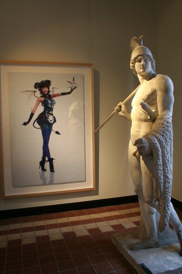 Takashi Murakami Miss Ko2 - Devil 2004, Jensen's Collection og Bertel Thorvaldsen Jason 1802-03 museets samling