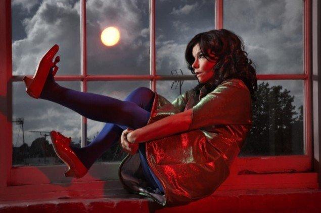 Søren Solkær Starbird. Björk, foto 100 x 150 cm.