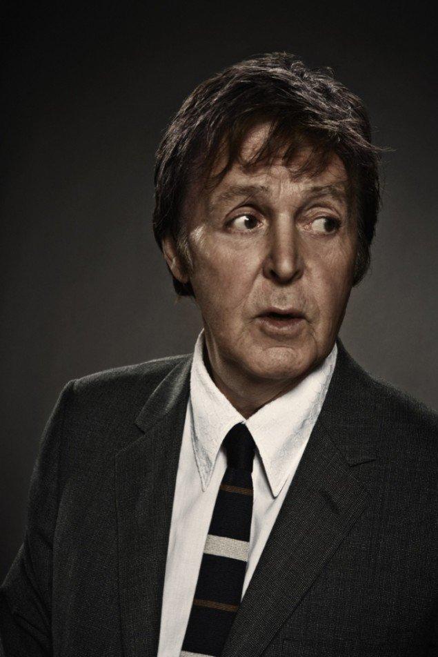 Søren Solkær Starbird. Paul McCartney, foto 50 x 70 cm.
