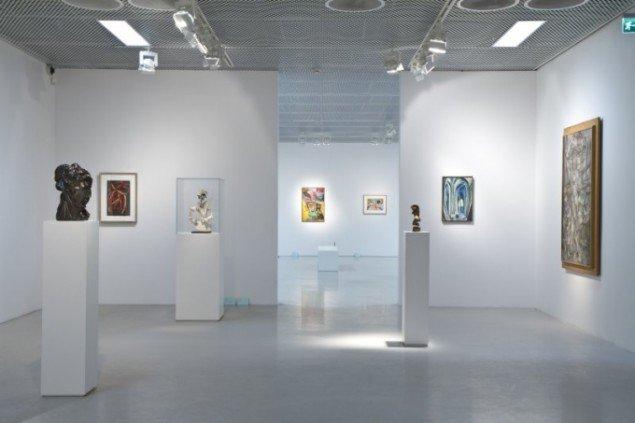 Udstillings view Den tidiga modernismen 1900-1920 fra Moderna Museets samling, Moderna Museet Malmø (Foto: Terje Östling).