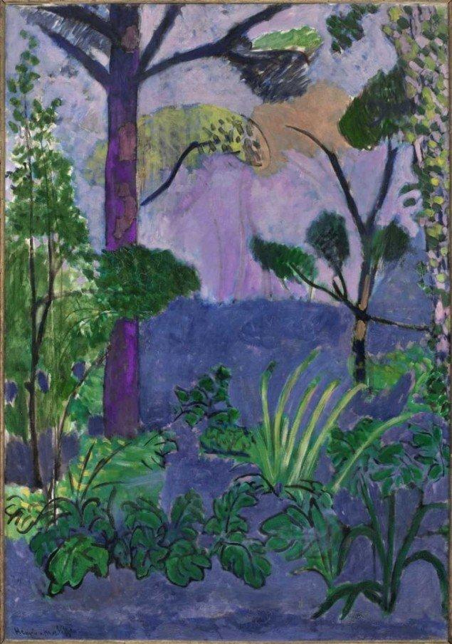 Henri Matisse: Marockanskt landskap (Akantus), 1912 © Succession H Matisse/BUS 2011 (Foto: Pressefoto).