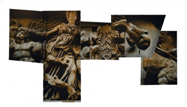 Bo Mølgaard: Athena-trofæ.1. 6-delt fotogravure