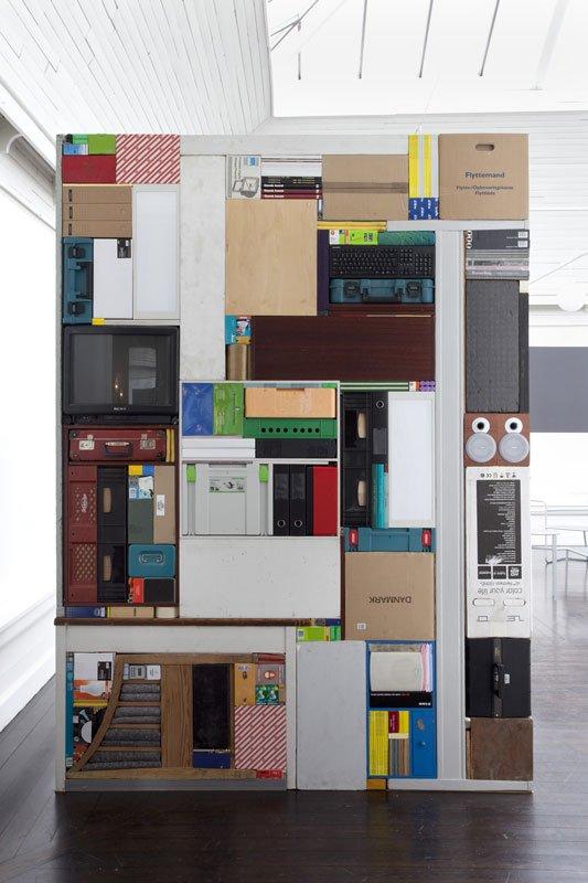 Michael Johansson: Tetris – Den Frie Udstillingsbygning, 2011. (Foto: Erling L. Jeppesen)