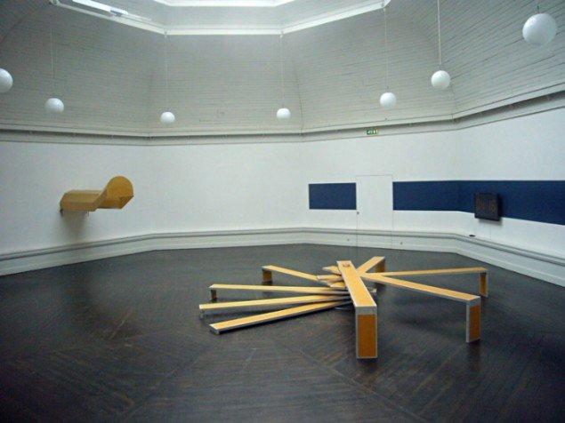 Installationsview, OVERLAP. (Foto: Matthias Hvass Borello)