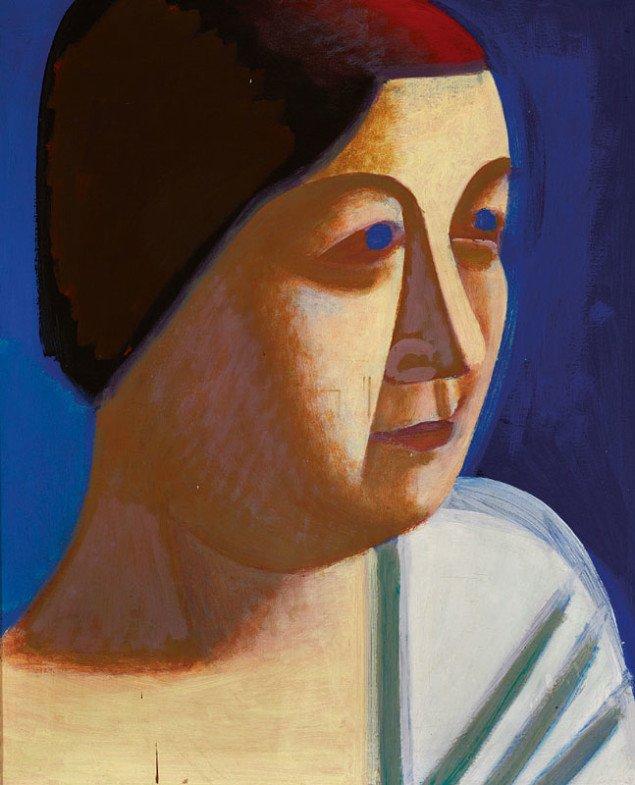 Vilhelm Lundstrøm: Portræt af Yrsa, 1931. Usigneret. Olie på lærred. 102 x 81 cm. Vurdering: DKK 150.000-200.000.