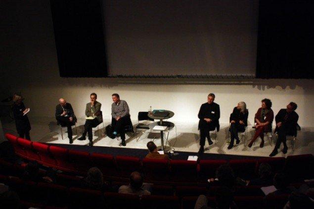 Diskussion modereret af Camilla Jalving (Foto: Carl Martin Faurby).