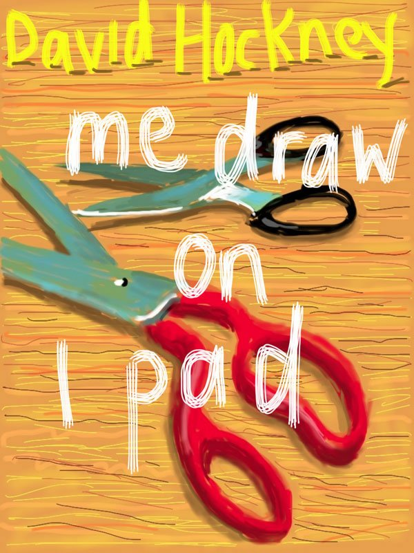 David Hockney: Uden titel, 21. marts 2011, iPad tegning © David Hockney (Pressefoto)