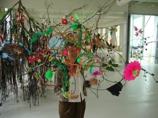Udstillingen Wild Things er et eksempel på Lene Burkards ønske om at inddrage værker, der kan præsenteres på en helt ny måde. Foto: Torben Eskerod