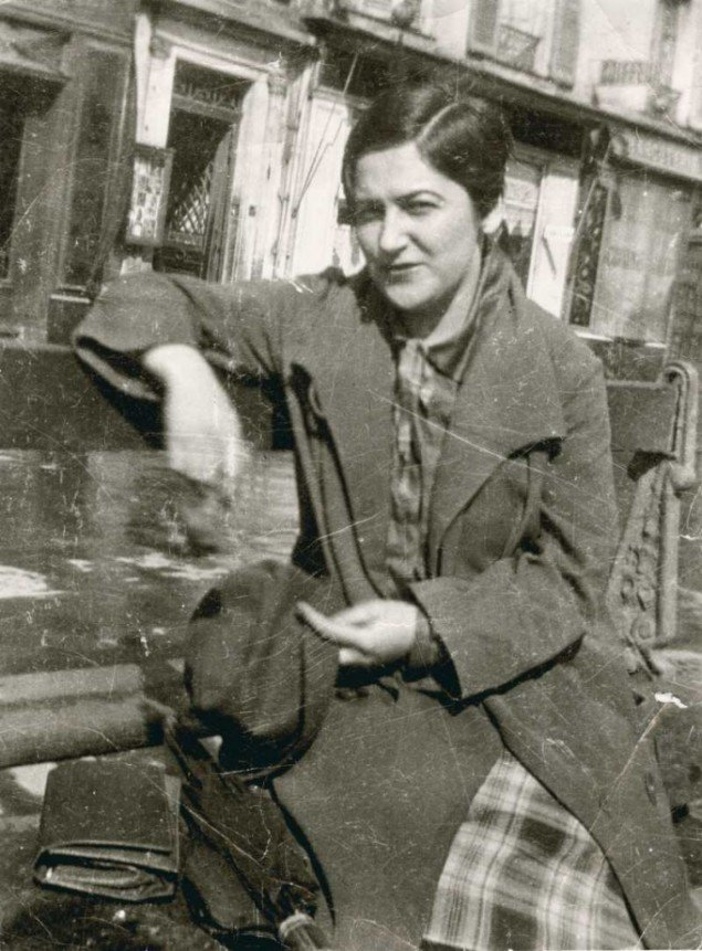 Franciska Clausen, Paris 1926 (Foto: Florence Henri).