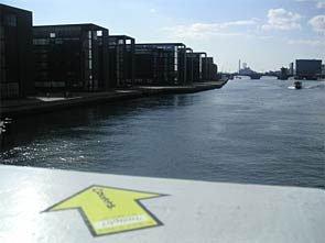 """""""Room for improvement – imagine a place to sit and enjoy the sunset in front of the cool buildings."""" Københavns Havn, KBH. Foto: Fra projektets webside."""
