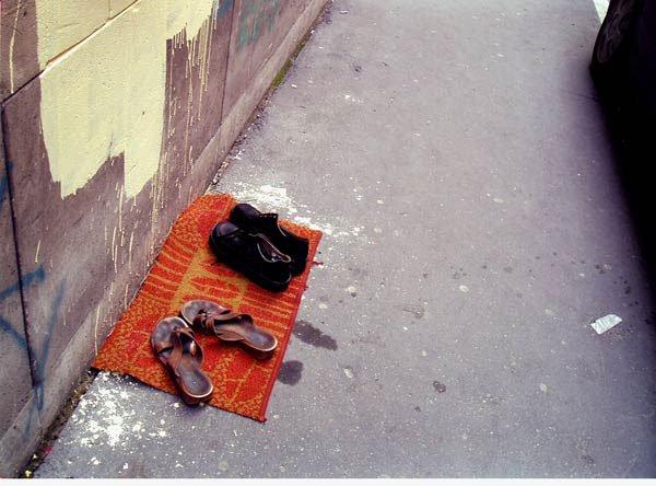 Indikationer af hjem, Budapest 2005. Foto: Jan Danebod.