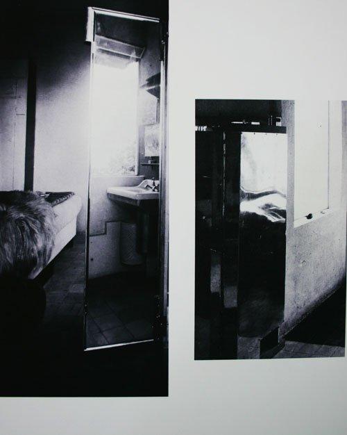 Fotos taget gennem flere spejle fra Eileen Grays E-1027-hus. Foto: Kristian Handberg