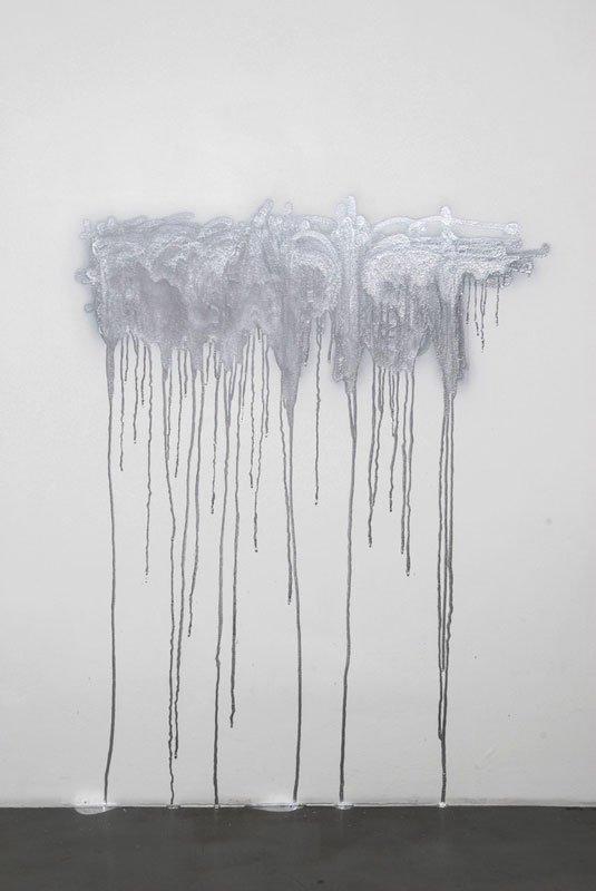 Matias Faldbakken, One Spray Can Escapist, 2008. Fra udstillingen Shocked into Abstraction, Museet for samtidskunst, Oslo, 2009.