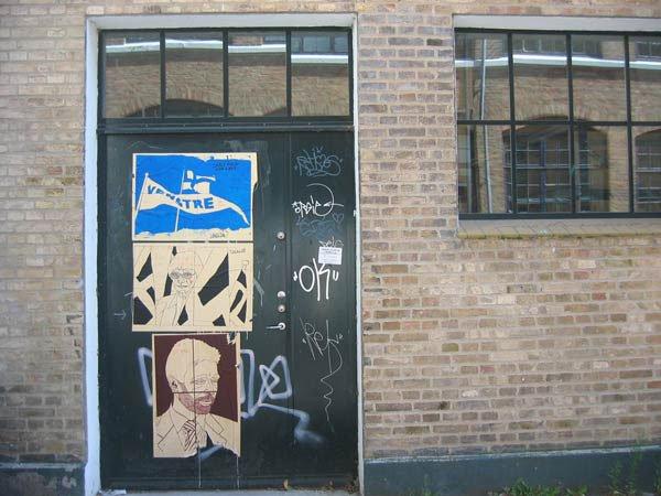 Den gode by har graffiti på, mener KigSet. Graffiti af KigSet.
