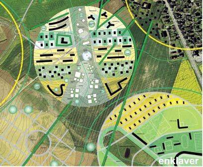Landskabelig byplanlægning fra tegnestuen TRANSFORM i Århus.