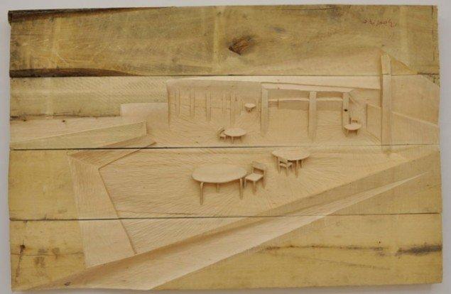 For Søren Assenholt er håndværket et direkte link til kulturen: Kantinen på Vordingborg Uddannelsescenter, 2011.