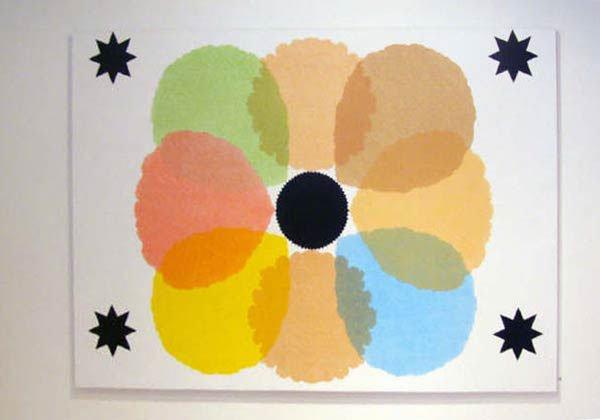 Bodil Nielsen: Four Black Stars.