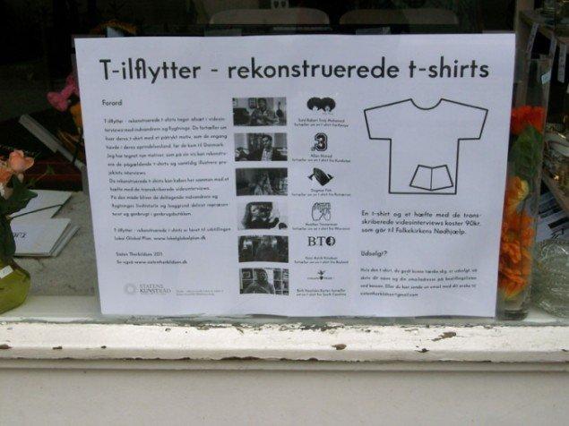 Sixten Therkildsen: T-ilflytter (Foto: Malene Nors Tardrup).