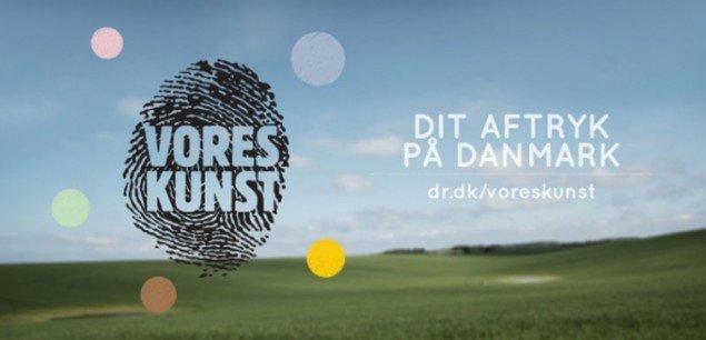 Plakaten til Vores Kunst. (DR Pressefoto)