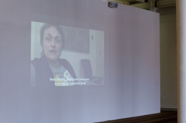 Naja Marie Lundstrøm, Afgangsudstillingen 2011, World in My Eyes. (Foto: Det Fynske Kunstakademi)