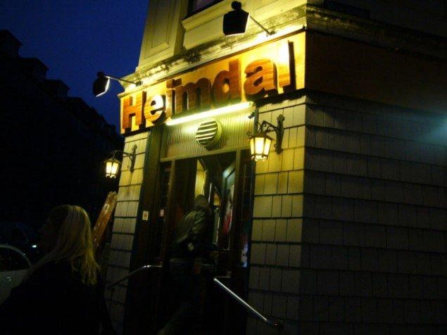 Kenneth Balfelts Cafe Heimdal fra SID NED!, som Christian Skovbjerg Jensen kuraterede (Foto: Kenneth Balfelt)