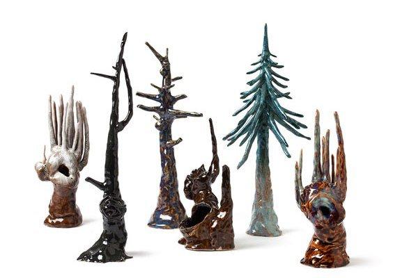 7 træer af Marianne Krumbach. Foto: Dorte Krog.