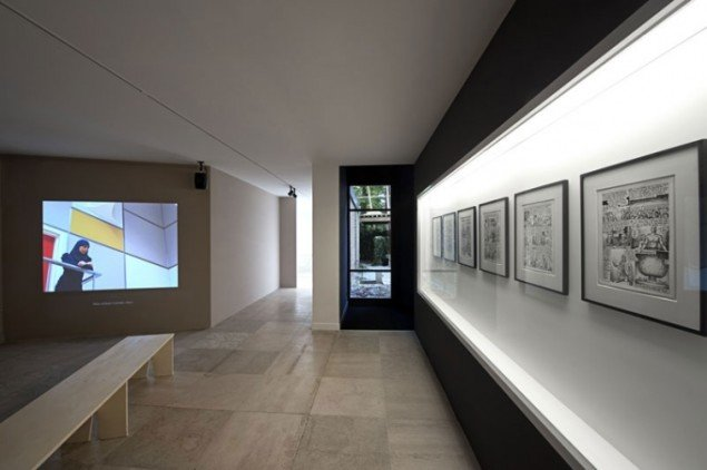 Installationsview. (Pressefoto, Den Danske Pavillon)