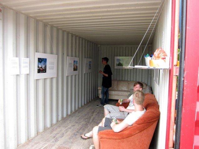 Maj Hasagers installation i Art City. (Foto: Maj Hasager)