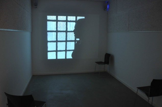 Double-Bubble, 2001. Videoinstallation