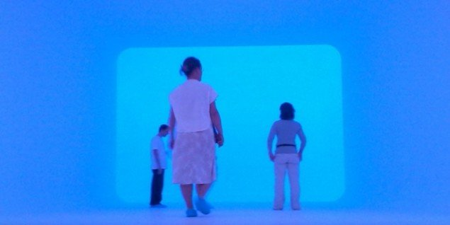James Turrell, The Ganzfeld Piece, 2011. (Foto: Matthias Hvass Borello)